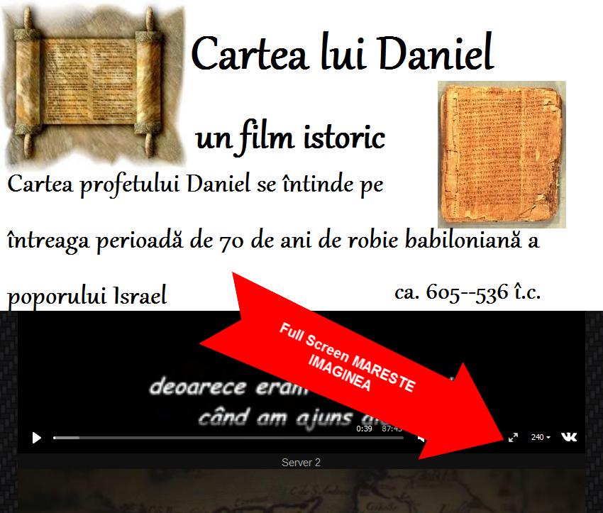 Cartea lui Daniel-un film istoric din perioada (ca.) 605–536 î.c.